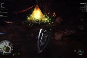 [MHW]大蟻塚の荒野のキャンプ設営場所はここ!キャンプの増やし方!