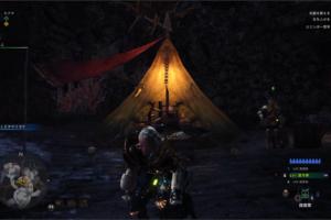 [MHW]陸珊瑚の台地のキャンプ設営場所はここ!キャンプの増やし方!